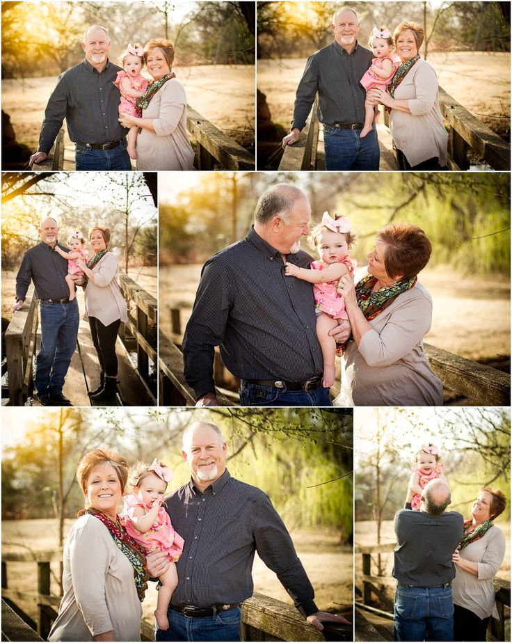 Stillwater Oklahoma 74074 Family Photographer | Grandparents & Grandchild Poses | Captured By Karly