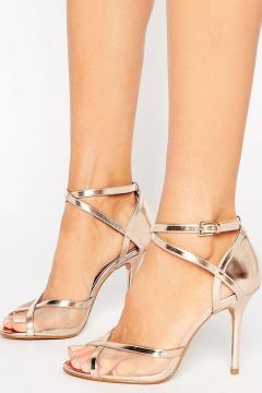 Head Over Heels By Dune Meryl Rose Gold Heeled Sandals - Gold https://modasto.com/head-over-heels/kadin-ayakkabi-sandalet/br58957ct19