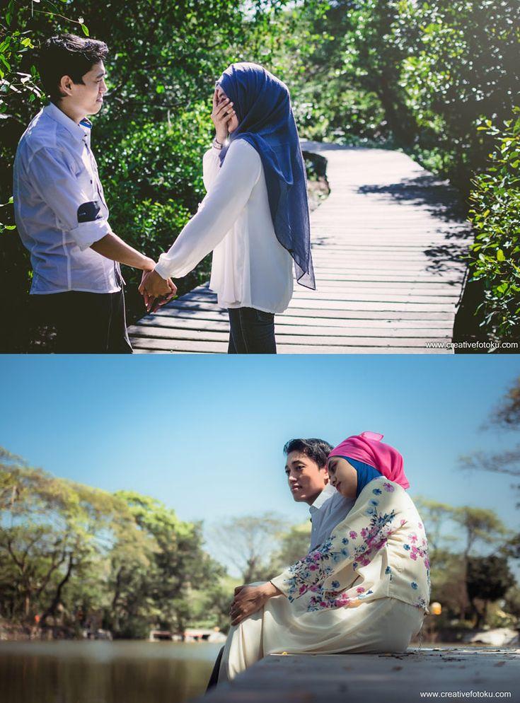 Surabaya mempunyai hutan mangrove sebagai tempat wisata bagus & murah. pilihan foto prewedding murah bisa anda pertimbangan untuk memilih lokasi Mangrove & kebun Bibit