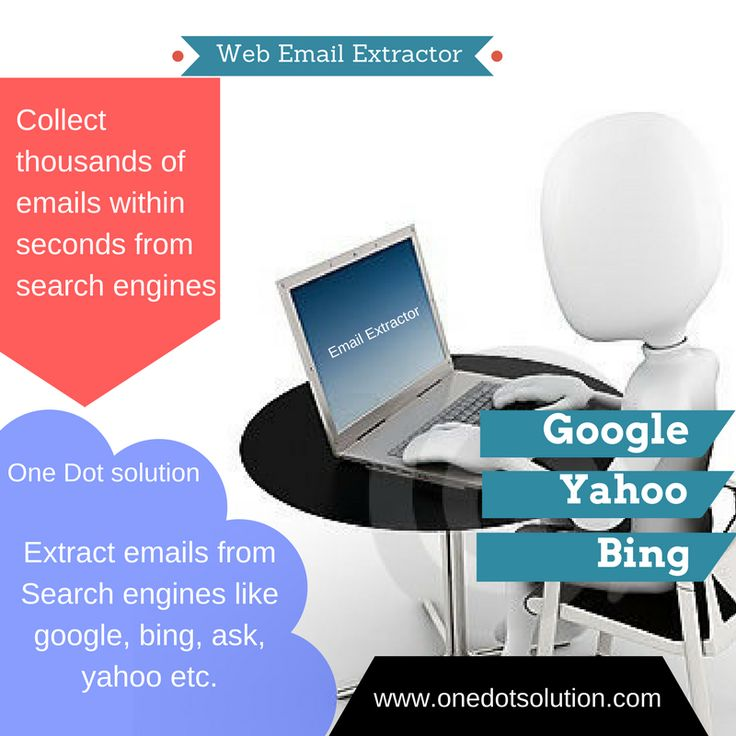 Collect thousands of emails within seconds from search engines and websites. It lowest price guaranteed in market. download free trial. #email #extractor #harvester #emaildatabase #google #yahoo #ask