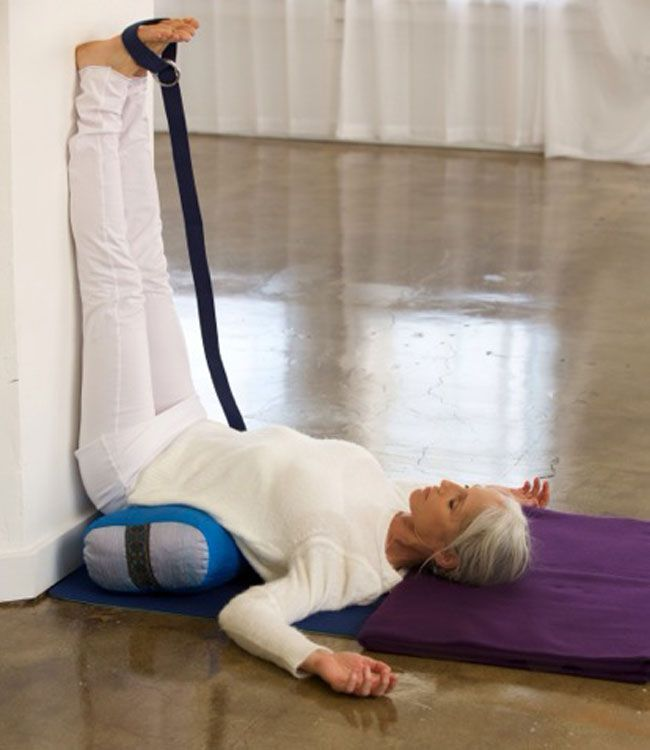 4 Restorative Poses to Beat Holiday Stress