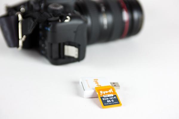 Eye-Fi Gives any Camera Wi-Fi and Geo-Location!