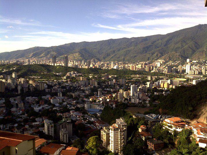 Caracas vista desde Colinas de Santa Mónica