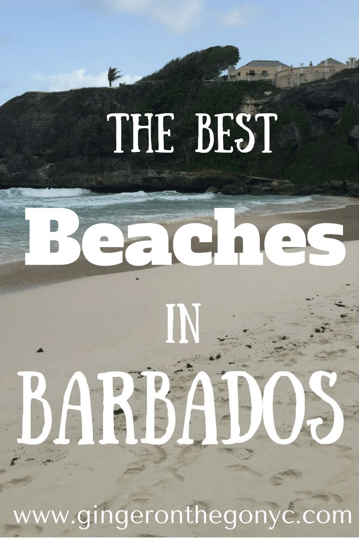 A round up of six spectacular Barbados beaches you must visit on the island of Barbados. The beaches have unique features to make a trip to each worthwhile.