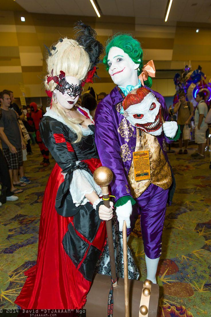 (1800's) Harley Quinn and Joker Cosplay Phoenix Comicon