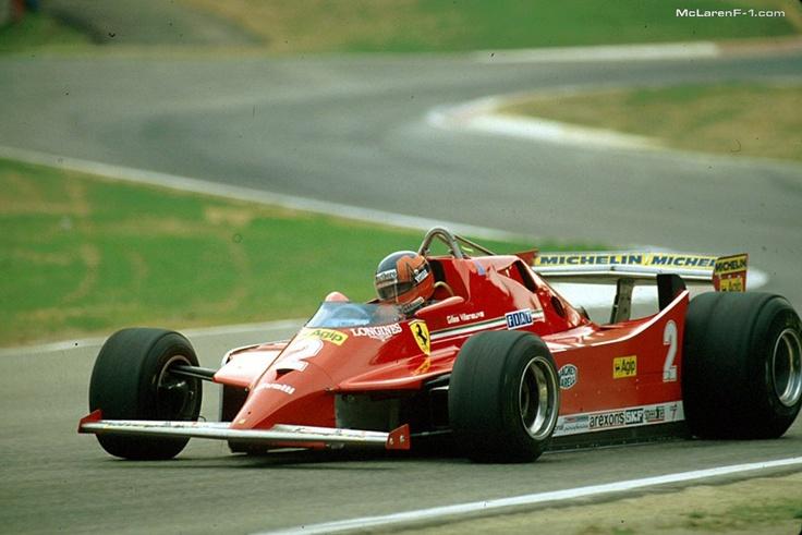 Gilles Villeneuve, Ferrari 126C, 1980 Italian GP @Imola