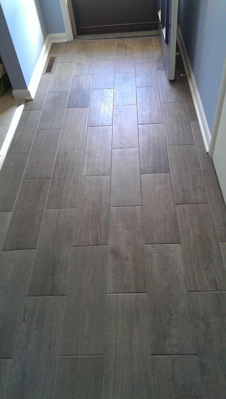 Floor for all bathrooms except main level DalTile Emblem
