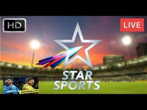 Star Sports Live | India vs Australia | 3rd ODI Match | Live  Cricket Sc...