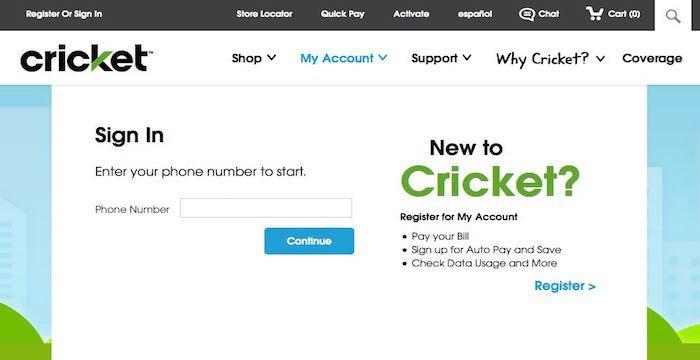 Cricket Bill Pay Online, Login, Customer Service & SignIn