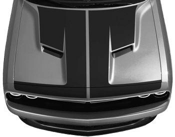 Dodge Challenger 2015 Hammerhead Hood Decal