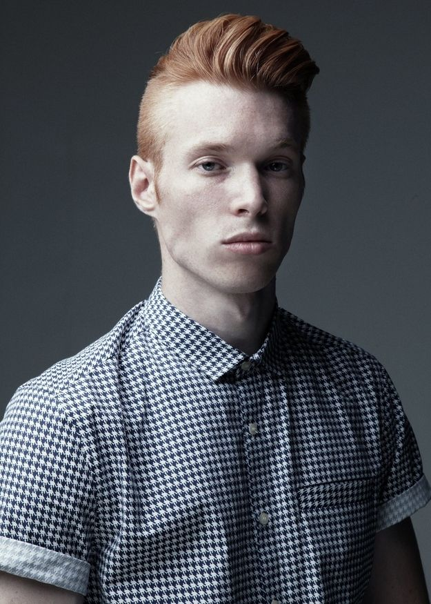 This Man Was Bullied At School For Having Ginger Hair, And Now He's An International Model. You go get em you ginger model you