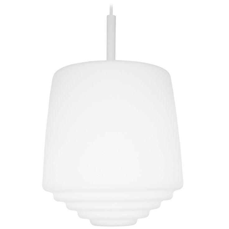 Elegant universal glass pendant lamp designed by M.Syrjälä
