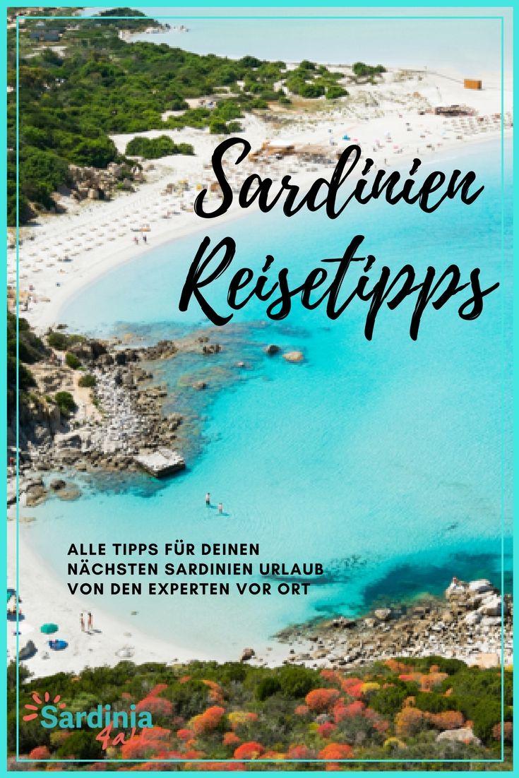 Urlaubstipps für Sardinien: die schönsten Strände, alle sehenswerten Regionen, das wunderbare italienische Essen und Insider Tipps!