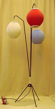 Lampion-Stehleuchte - der Designklassiker der 50er Jahre