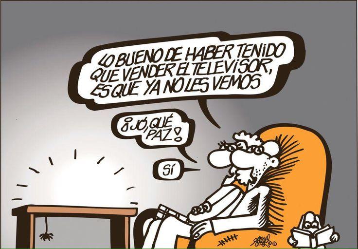 @forges   ¡Alguna ventaja habría que tener el estar sin un euro!.-#forges