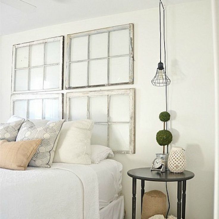 Ideas For A Headboard best 25+ old window headboard ideas on pinterest | old window