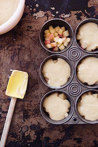 Upside Down Apple Tea Cakes