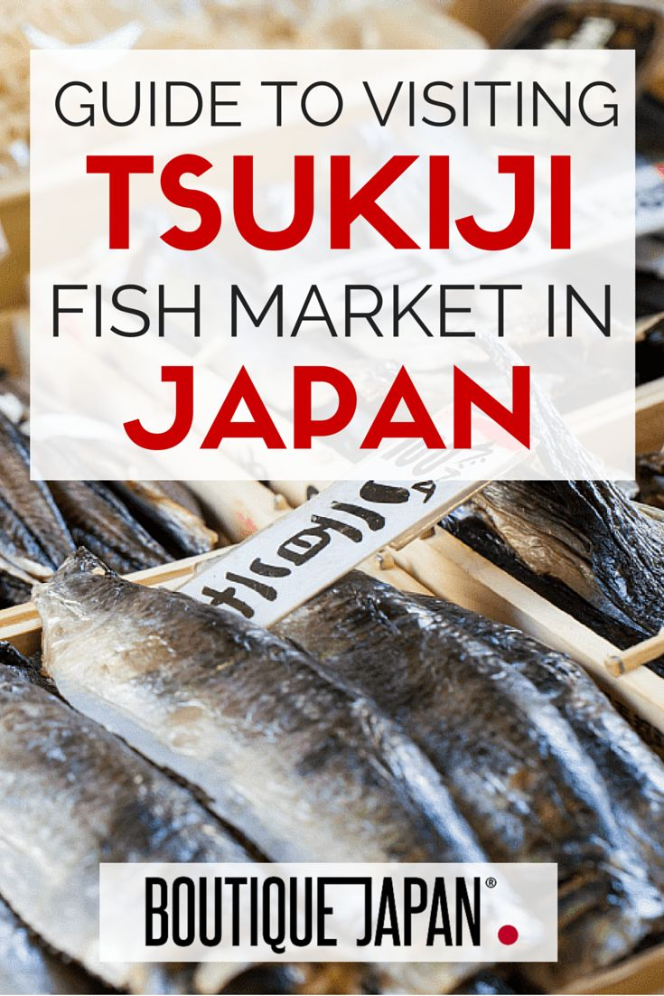 Your guide to visiting Tokyo's Tsukiji Fish Market. Everything from when to visit, how to get here, the tuna auctions, where to eat, what to bring and more!