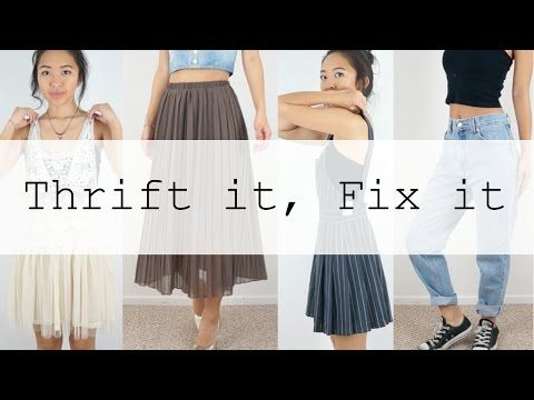 This is how I quickly alter clothes to fit me better! Hope you enjoy! Thumbs up if you would like to see more of these videos! :) Sewing Machine: Janome Magn...