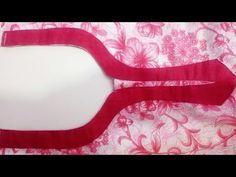 Designer neckline with potli buttons - YouTube