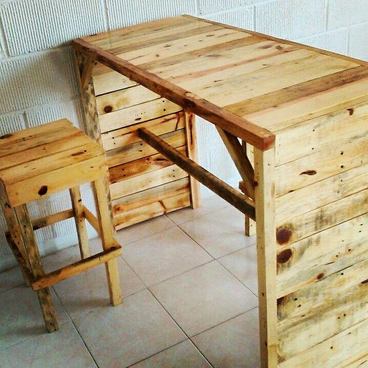 mueble de madera y