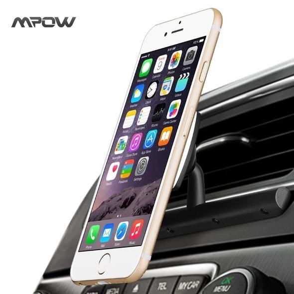 Universal Car CD Slot Magnetic Mount Phone Cradle Holder