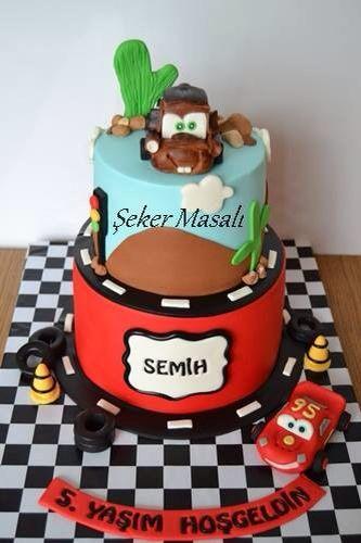 Cars birthday cakes ,cars cakes