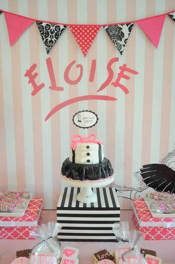 Eloise at the Plaza<--- this is too cute!! love the cake