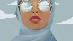 """Résultat de recherche d'images pour """"hijab girl drawing"""""""