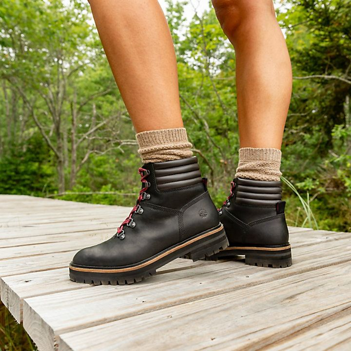 Asesorar Abreviar Fundir  TIMBERLAND | Women's London Square Mid Hiking Boots in 2021 | Boots, Hiking  boots women, Timberlands women