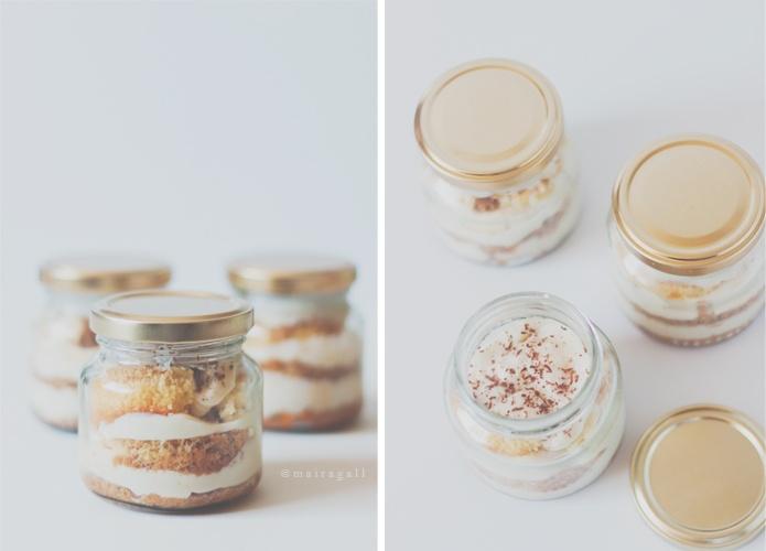 Jarcakes de queso y café. - Adorable