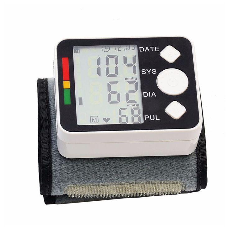 2016 Цифровой вист измеритель артериального давления монитор Тонометр портативный Автоматический Тонометр для измерения главная здравоохранения