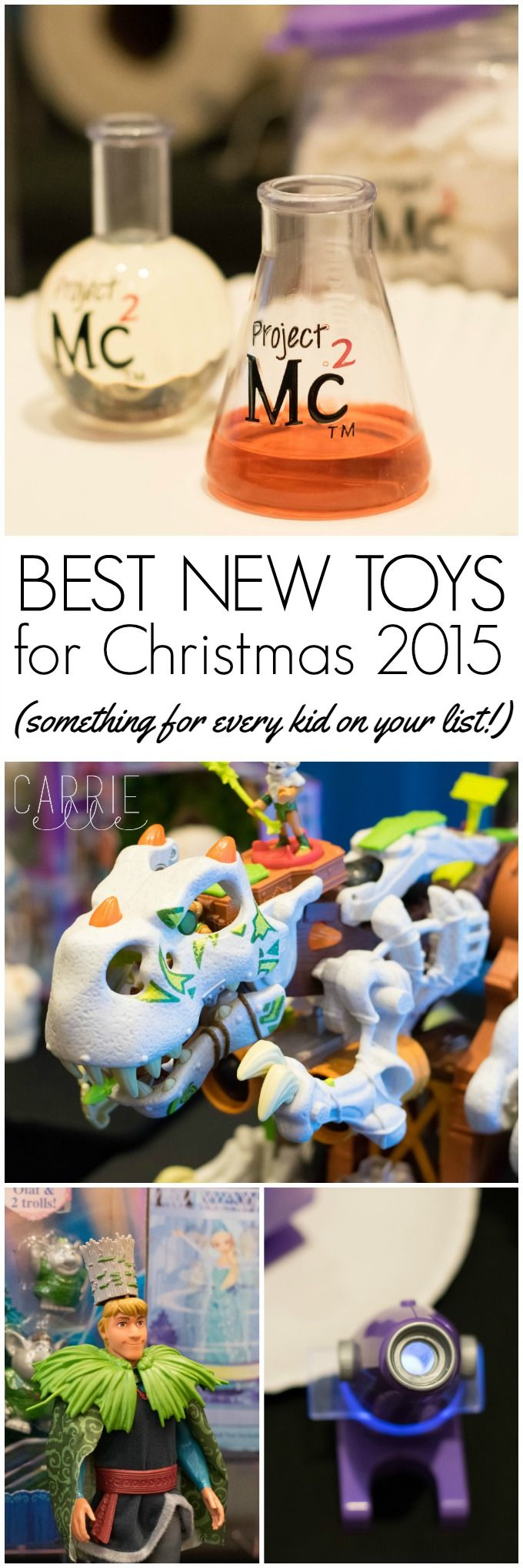 Best New Toys for Kids for Christmas Holidays 2015 ad. Love that the list has something for every kid on it! ad
