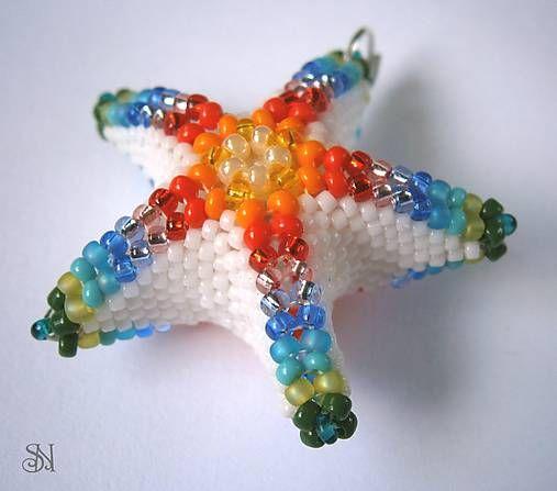 Dúhová hviezdica - prívesok