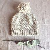 Ravelry: Beloved /aran/ pattern by Solenn Couix-Loarer, worsted/Aran wt yarn, multiple sizes, free pretty pattern.