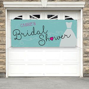The Dress Bridal Shower Personalized Banner
