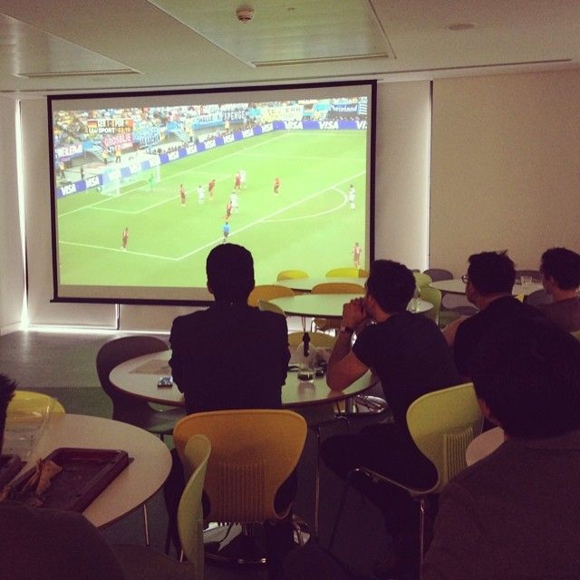 germany v portugal in the office