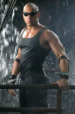 Aaaand one for me!  LOL Vin Diesel....Riddick!
