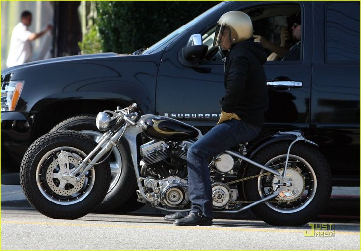 Some people like Brad Pitts movies.... but I like his motorcycle collection!