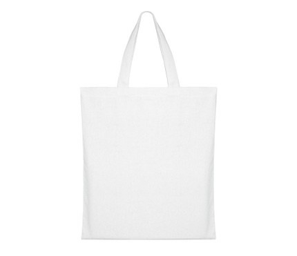 blank white tote bags, 3 for $6.50