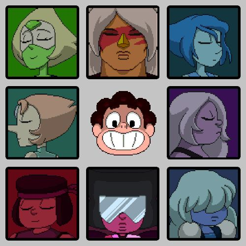 Steven Universe- Level Select