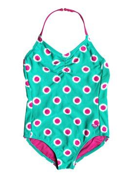 roxy, Baby Safari One Piece Swimsuit, Dynasty Green-6 (gpv6)