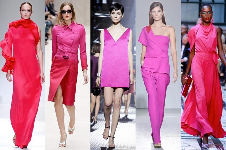 #Rosa shoking: Gucci, Burberry Prorsum, Lanvin, Costume National, Vivienne Westwood