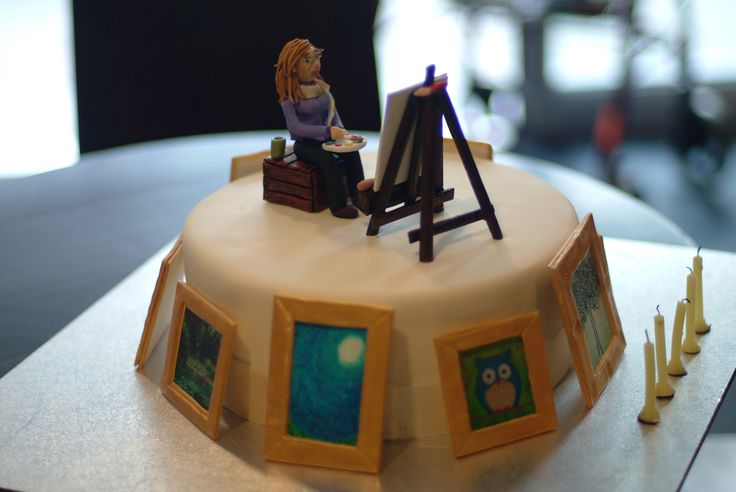 Images Of Cake Paintings