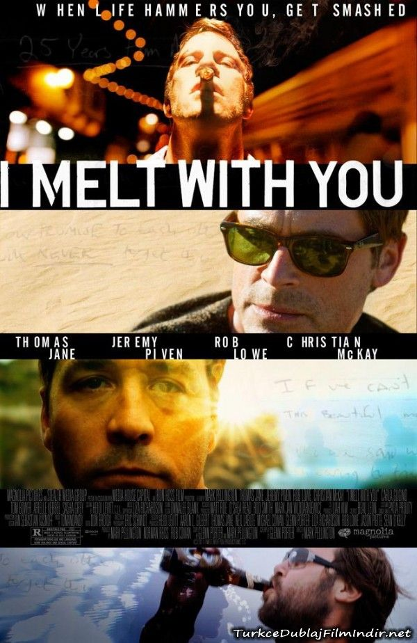 Dort Psikopat - I Melt With You - 2011 - WEBRip Film Afis Movie Poster