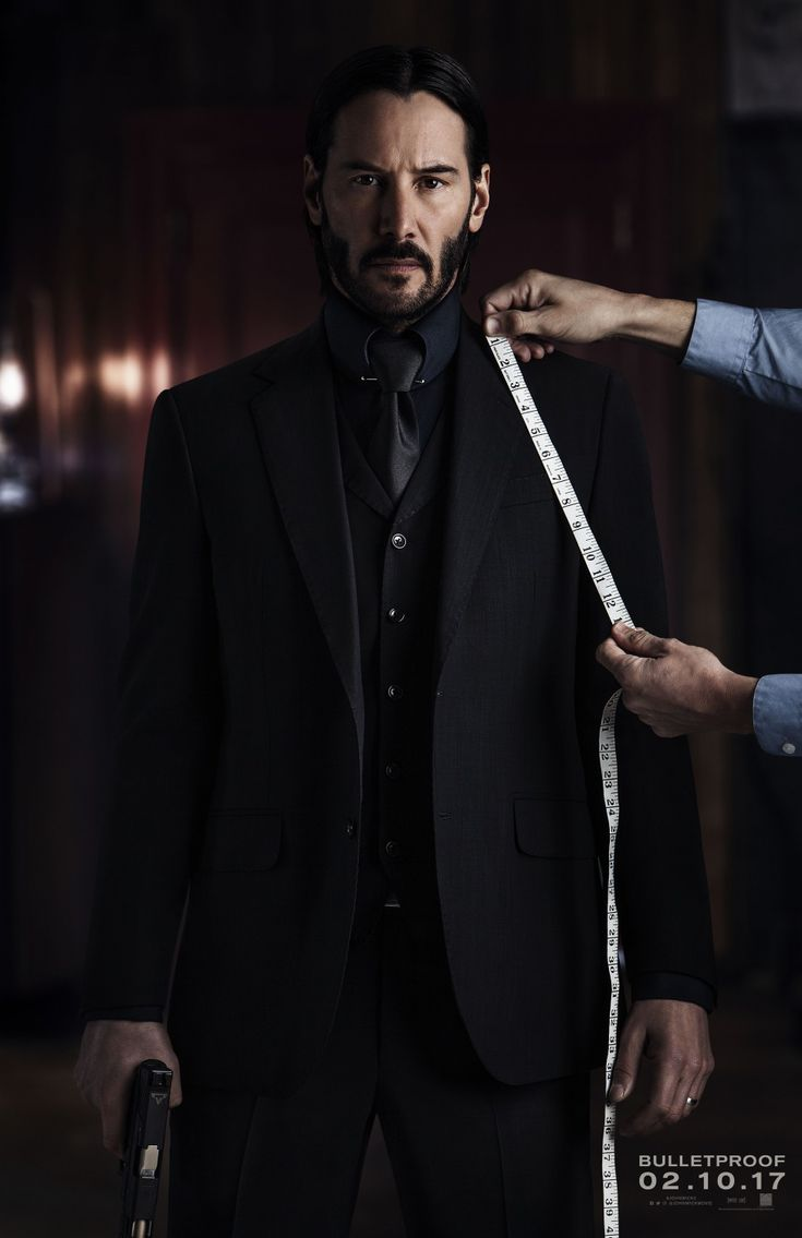 Keanu Reeves is looking dapper on the John Wick: Chapter 2 poster. Details here