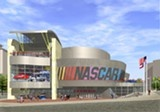 NASCAR Museum and race