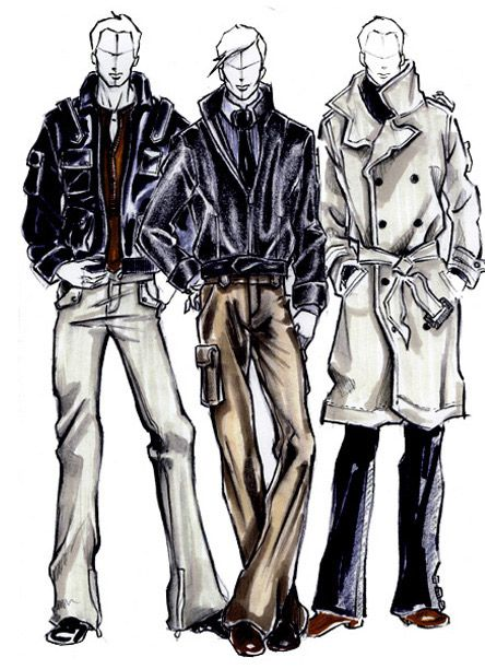 25 best ideas about fashion illustration men on pinterest