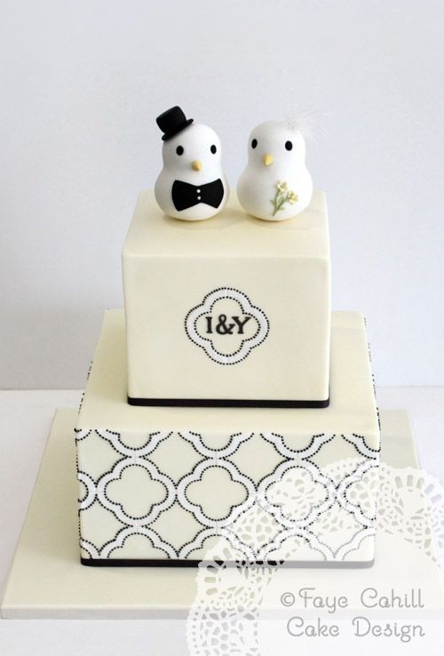 White Cupcakes With Lemon Filling And Little Cake Topper