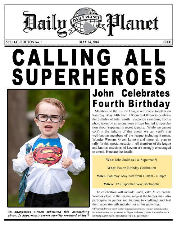 Superman Batman Superhero Justice League by ParchmentSkies on Etsy
